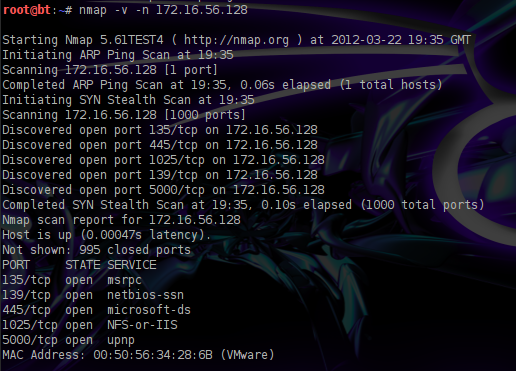 RPC Service Exploitation in Windows XP   Penetration Testing Lab