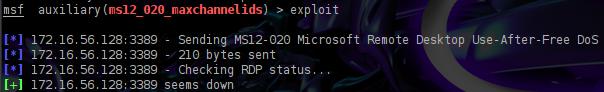 Microsoft RDP Vulnerability PoC | Penetration Testing Lab