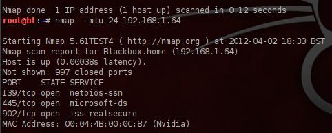 Nmap – Techniques for Avoiding Firewalls | Penetration
