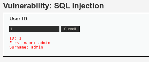 SQL Injection Exploitation – DVWA | Penetration Testing Lab