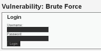 DVWA Brute Force   Penetration Testing Lab