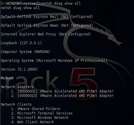 network diagnostic