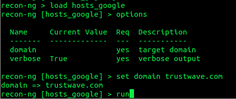 discover hosts via google