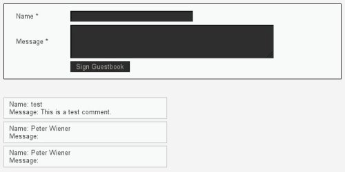 Comment Form Vulnerable to XSS