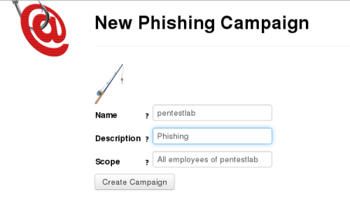 phishing frenzy - campaign