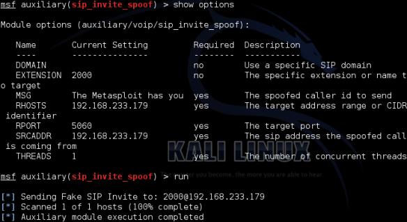 Sms Spoof Kali Linux Github