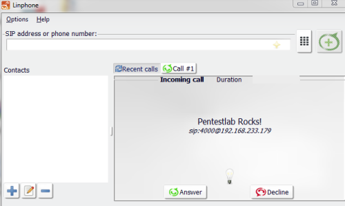 Spoofed Call - Viproy
