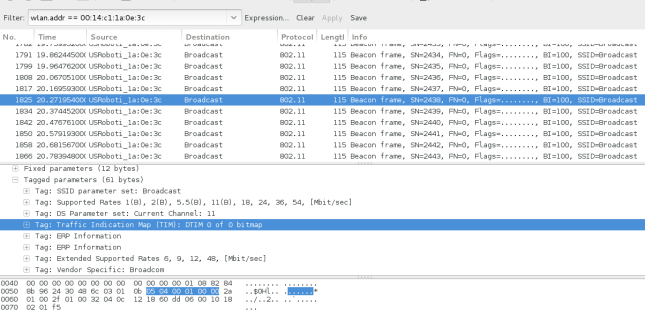 Beacon Frames - Hidden Wireless SSID