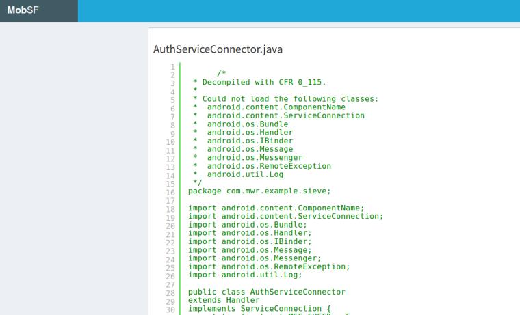 mobsf-java-source-code