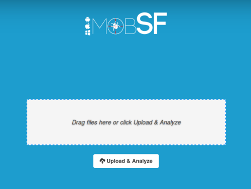 mobsf-main-page