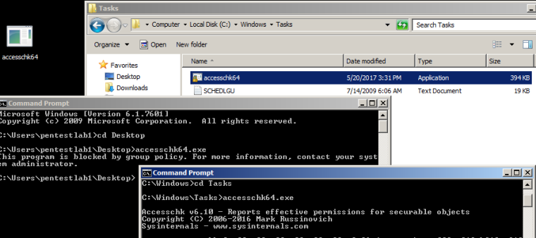 AppLocker Bypass - Weak Path Rules