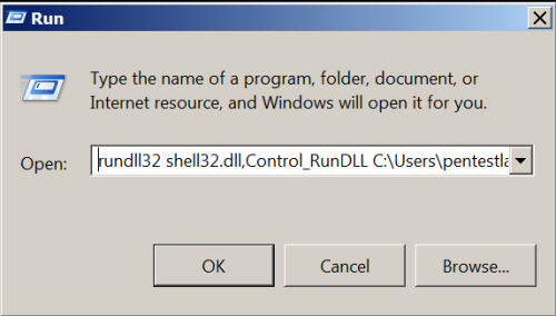 Rundll32 - Injecting DLL into a Process