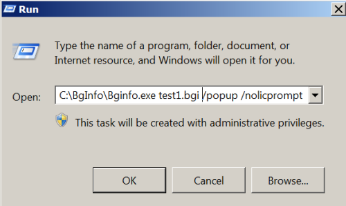 Execute BGI File via Run