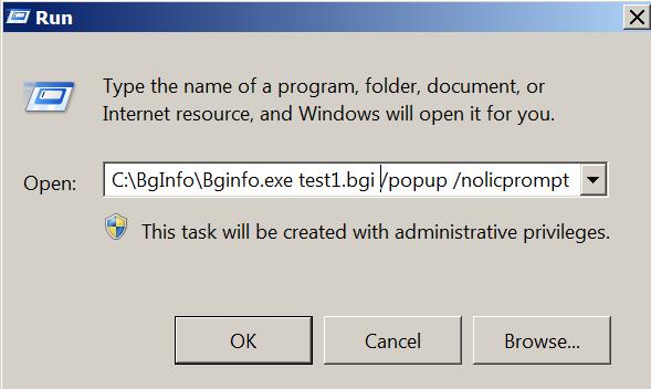 Execute BGI File via Run