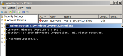 msiexec - Command Prompt
