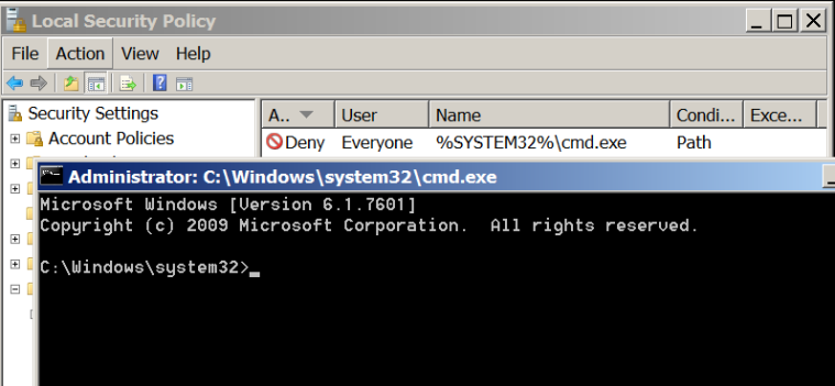 msiexec - Command Prompt