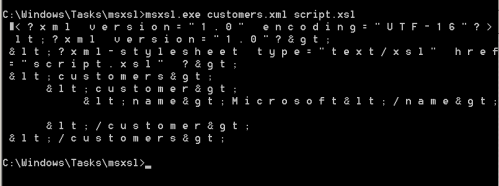 AppLocker Bypass - MSXSL