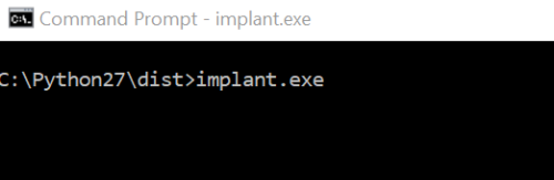 Gcat - Running Implant