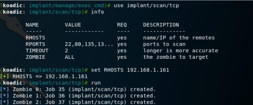 Koadic - TCP Scanner