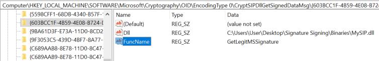 PowerShell Script - Digital Microsoft Signature