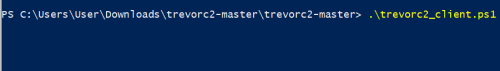 TrevorC2 - PowerShell Implant  - trevorc2 powershell implant - Command and Control – Website