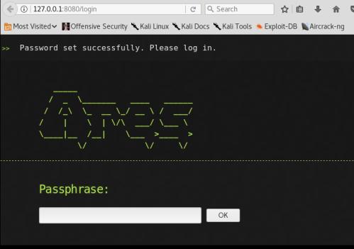 Ares - Passphrase