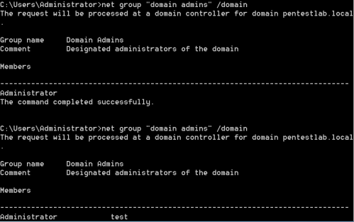DCShadow - Escalate User to Domain Admin