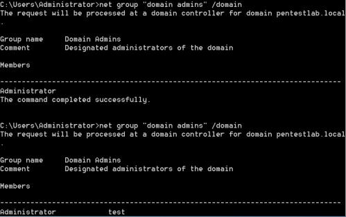 DCShadow - Escalate User to Domain Admin  - dcshadow escalate user to domain admin - DCShadow | Penetration Testing Lab