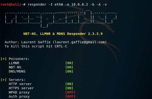 NBNS Spoofing - Responder