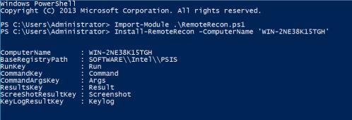 RemoteRecon - Install