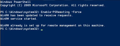 WinRM - Enable the Service