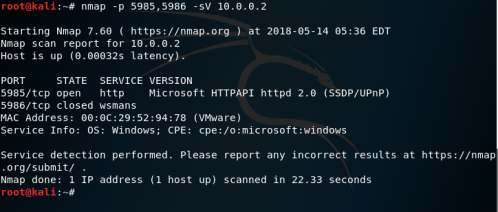WinRM - Ports  - winrm ports - Lateral Movement – WinRM | Penetration Testing Lab