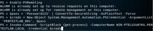 Kerberoast - Command Execution  - kerberoast command execution - Kerberoast | Penetration Testing Lab
