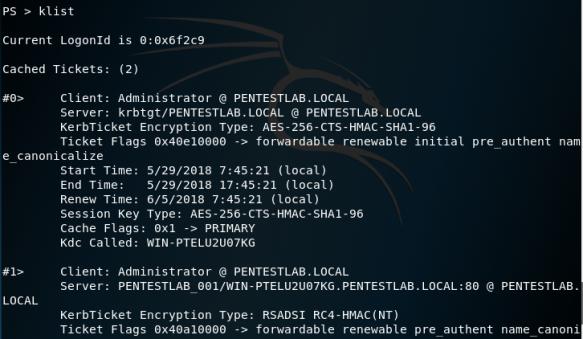 Kerberoast | Penetration Testing Lab